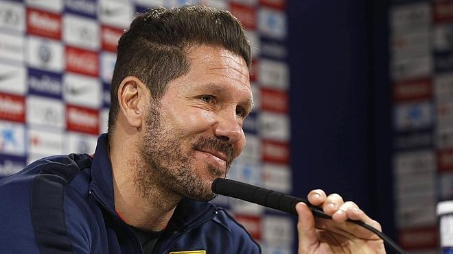 Simeone: «Podemos acercarnos al Barça y eso siempre es ilusión y entusiasmo»