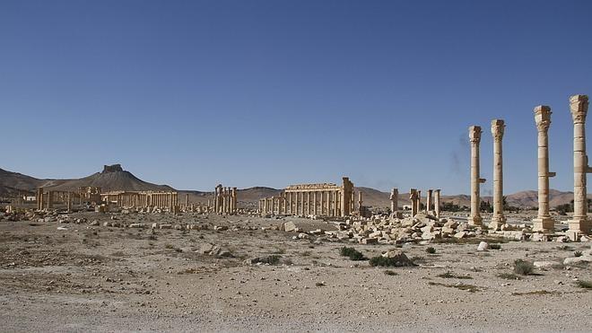 Hallada una fosa común con 42 cadáveres en Palmira