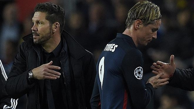 Simeone: «Hubo desigualdad por la expulsión de Torres»