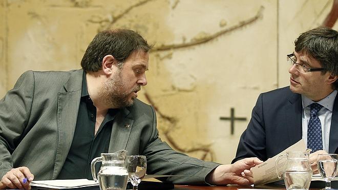 Sánchez se reunió con Junqueras en secreto