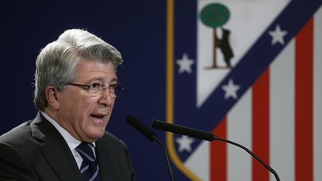 Cerezo: «Creo que el Atlético no molesta, salvo deportivamente»