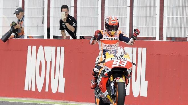 Márquez: «Este año estamos perdiendo en aceleraciones, veremos cómo se nos da»
