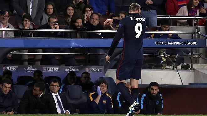 El Atleti ya planea su remontada sin la inspiración de Fernando Torres