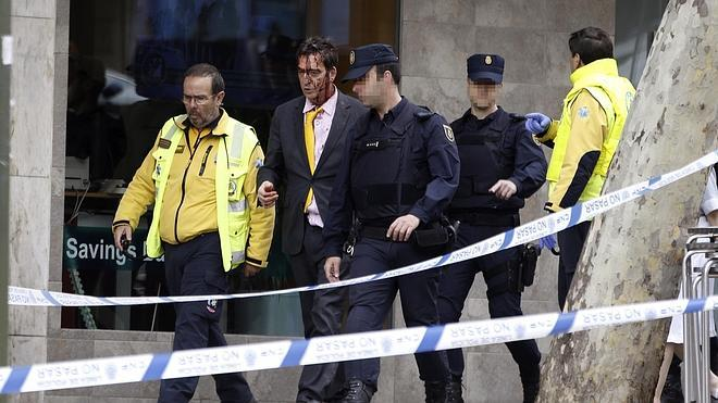 Un herido leve durante el violento asalto a una vivienda de Madrid