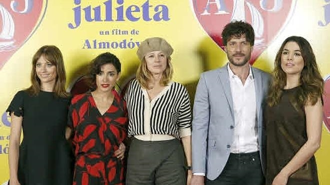 'Julieta', de Almodóvar, competirá por la Palma de Oro en Cannes