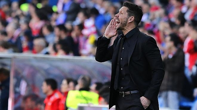 Simeone: «Jugaremos a lo que nos pide el calendario, que es ganar, ganar y ganar»