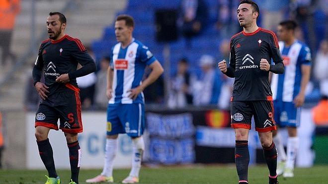 Espanyol y Celta posponen sus objetivos ligueros