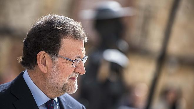 Rajoy visita la sede del Intituto Cervantes en su XXV aniversario