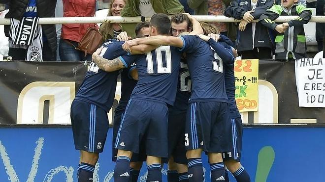 Bale rearma al Madrid para la batalla de Mánchester