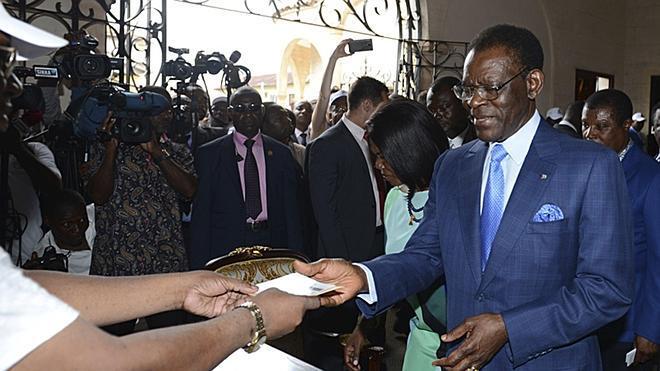 Finalizan las votaciones en Guinea Ecuatorial con la victoria de Obiang asegurada