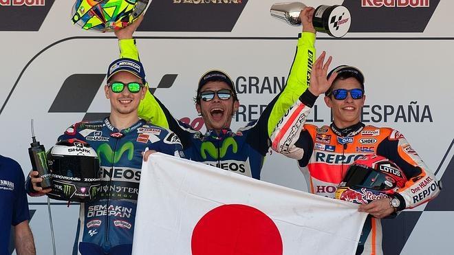 Rossi completa un gran premio perfecto en Jerez