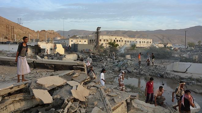 La coalición saudí mata a más de 800 milicianos de Al-Qaida en Mukalla