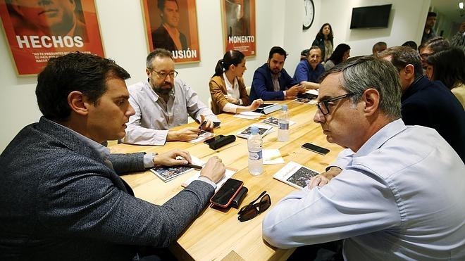 Ciudadanos critica la «falta de sentido de Estado» de PP y Podemos