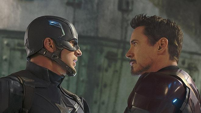 Chris Evans y Robert Downey Jr, en guerra en 'Capitán América: Civil War'
