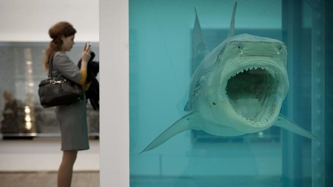 ¿Es tóxico el arte de Damien Hirst?