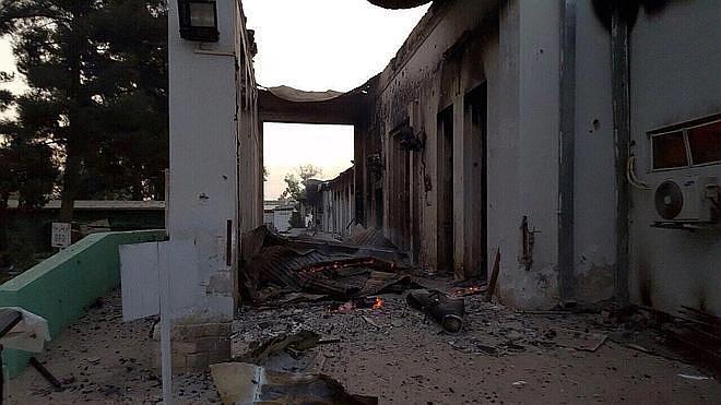 EE UU concluye que el ataque a un hospital afgano de MSF no fue un crimen de guerra