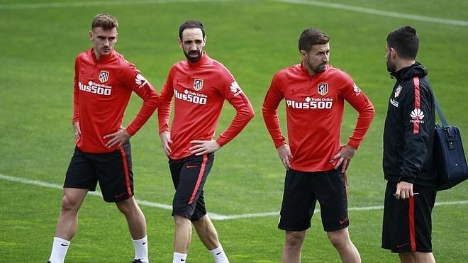 El Atlético, a Alemania con el plan A