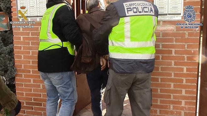 Detenido en Alicante un atracador de 71 años que ha pasado casi la mitad de su vida en prisión