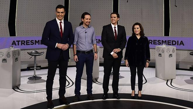 TVE y Atresmedia luchan por hacerse con un debate a cuatro con Mariano Rajoy