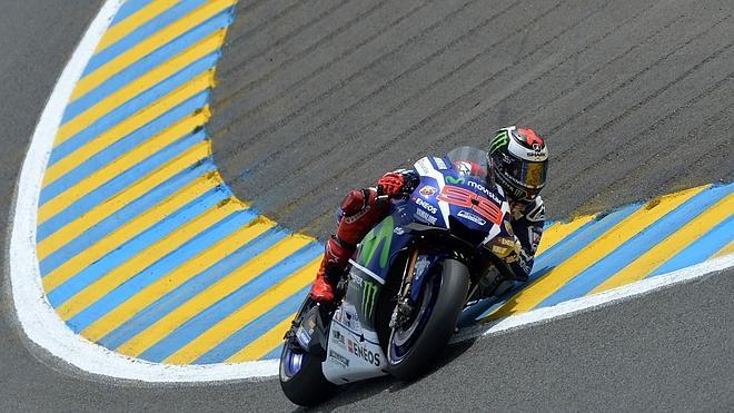 Un inalcanzable Lorenzo se lleva la 'pole' en Le Mans