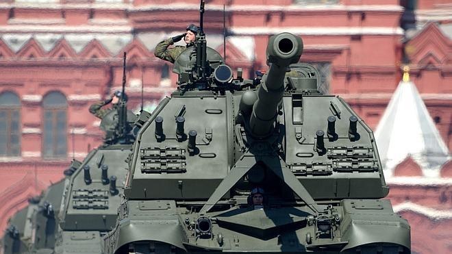 Rusia muestra su poderío militar en el 71 aniversario de la victoria contra los nazis