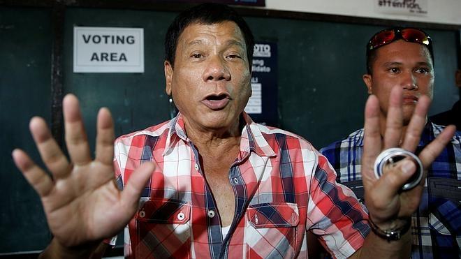 Rodrigo Duterte, un provocador antisistema, nuevo presidente filipino
