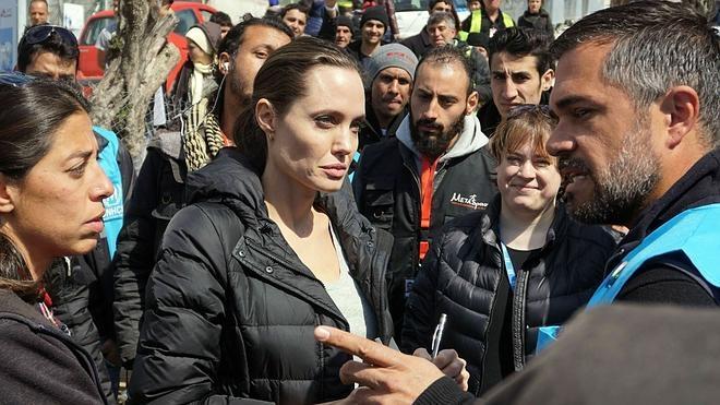 Angelina Jolie advierte del peligro que genera «el miedo a la inmigración»