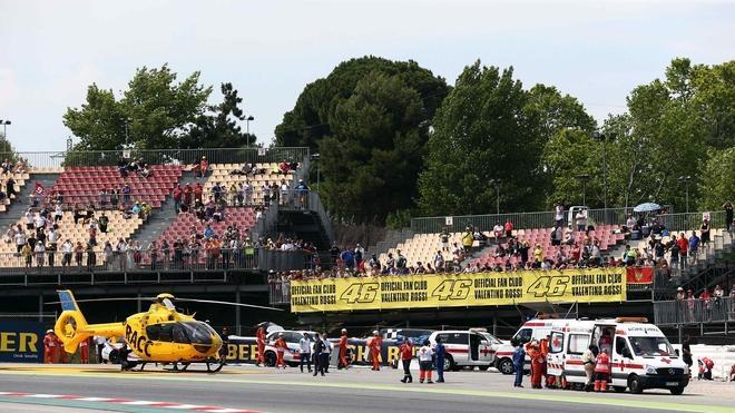 Luis Salom se une a larga lista de pilotos fallecidos en el circuito