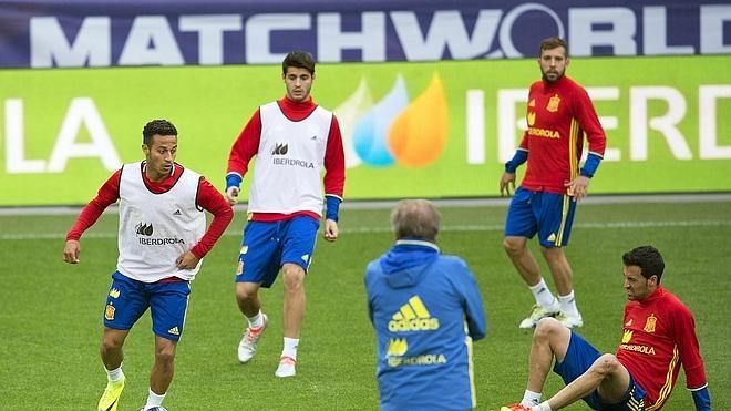 Del Bosque sigue sin poder entrenar con sus 23 jugadores