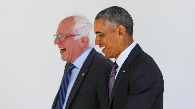 Sanders trabajará con Hillary Clinton para derrotar «juntos» a Trump