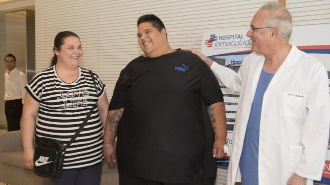 El hombre más obeso de España perderá 200 kilos tras un novedoso baipás gástrico