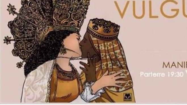 El cartel de la Mare de Déu besándose con la Moreneta «no es ofensivo»