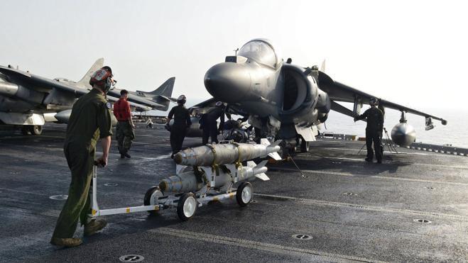 La Marina de EE UU bombardea al Daesh en Irak y Siria