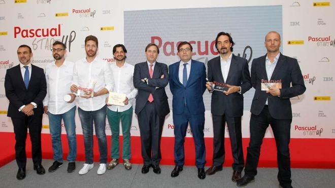 Pascual premia a las tres mejores startups agroalimentarias