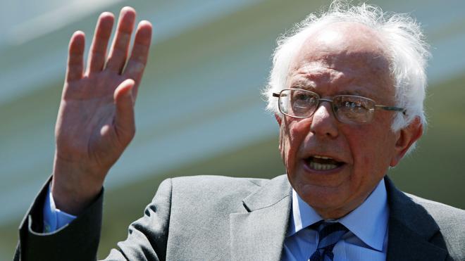 Sanders promete trabajar con Clinton para derrotar a Trump en las presidenciales