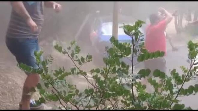 Cuatro heridos graves en un rally de Mallorca