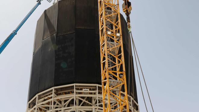 Israel construye la torre solar más grande del mundo