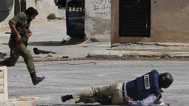 El conflicto sirio se ha cobrado la vida de unos 200 periodistas