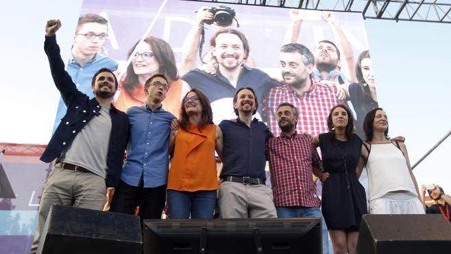 Unidos Podemos, una suma que resta