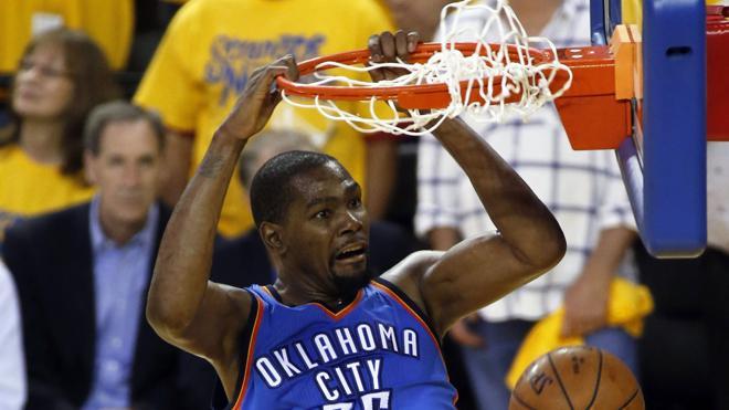 Durant y los Thunder jugarán contra Real Madrid y Barcelona en pretemporada