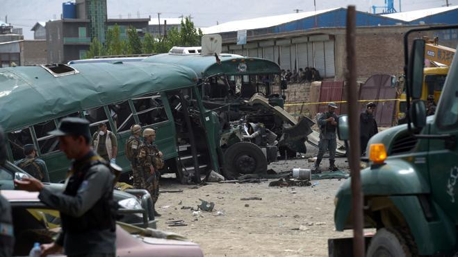 Al menos 27 muertos y 40 heridos en atentado contra la Policía en Kabul