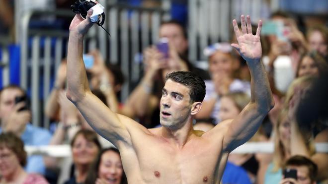 Phelps establece otro hito histórico en la natación y el deporte olímpico