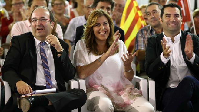 PSC y PSOE-A vuelven a la gresca por el tema territorial