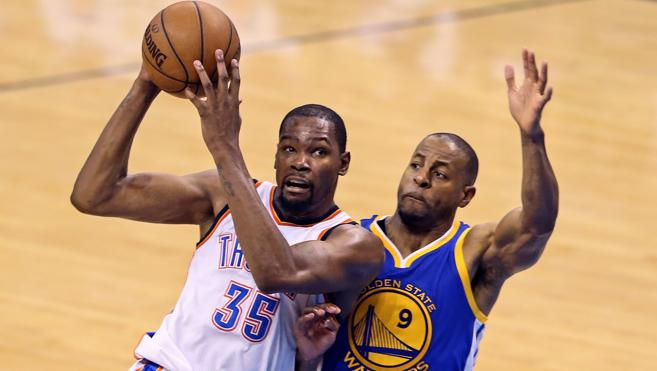 Kevin Durant rumbo a Golden State