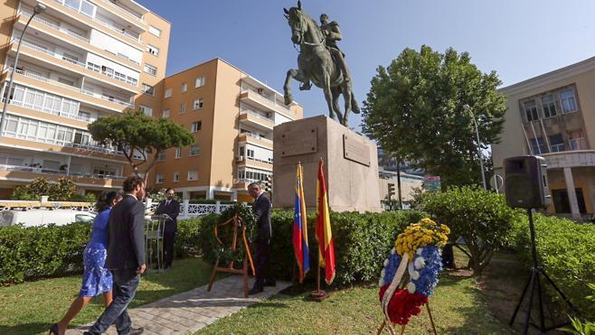 El Ayuntamiento de Cádiz homenajea la independencia de Venezuela