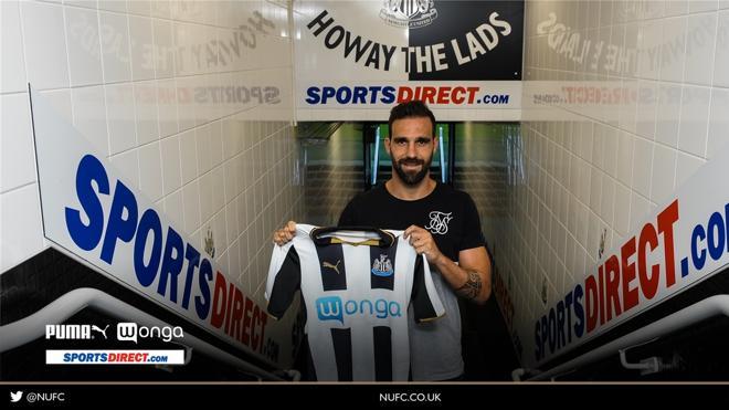 Jesús Gámez deja el Atlético y ficha por el Newcastle por dos temporadas
