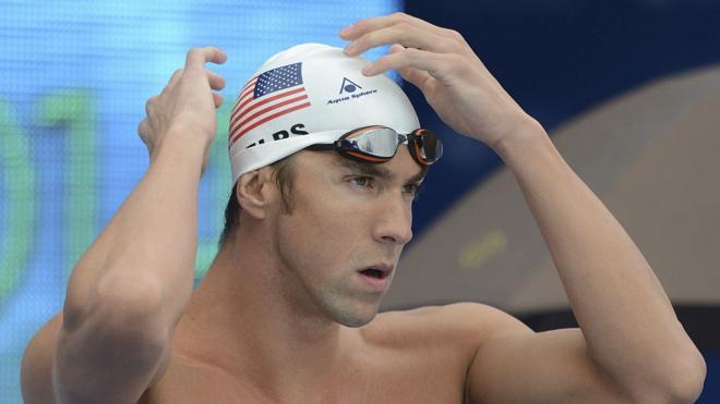 Michael Phelps, el tiburón insaciable