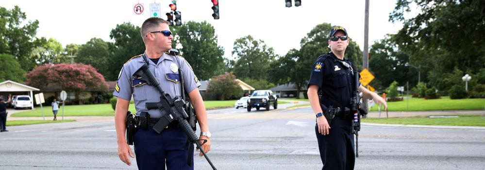 Un exmarine que sirvió en Irak, el autor de la muerte de tres policías en Luisiana