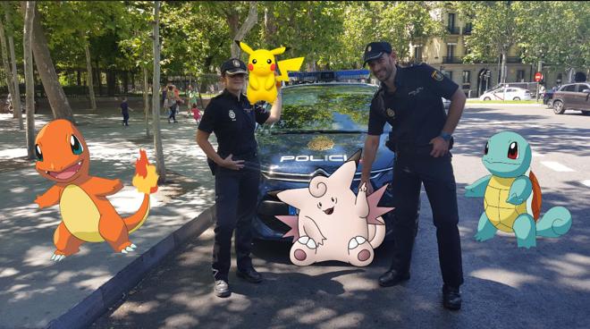 La Policía Nacional aconseja cómo jugar a Pokémon GO de forma segura