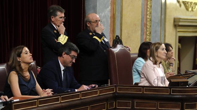 PP y Ciudadanos certifican su mayoría en la Mesa del Congreso